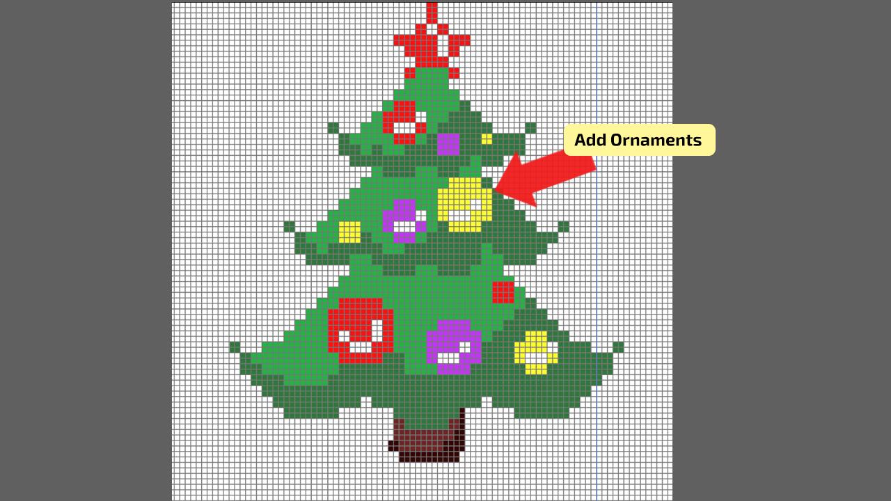 How to make Pixel Art in Illustrator Step 9
