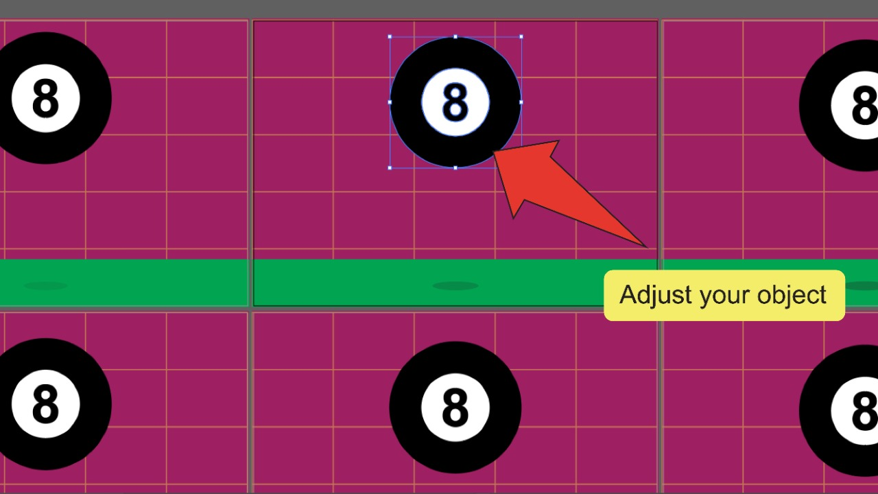 How to make a GIF in Illustrator Step 10