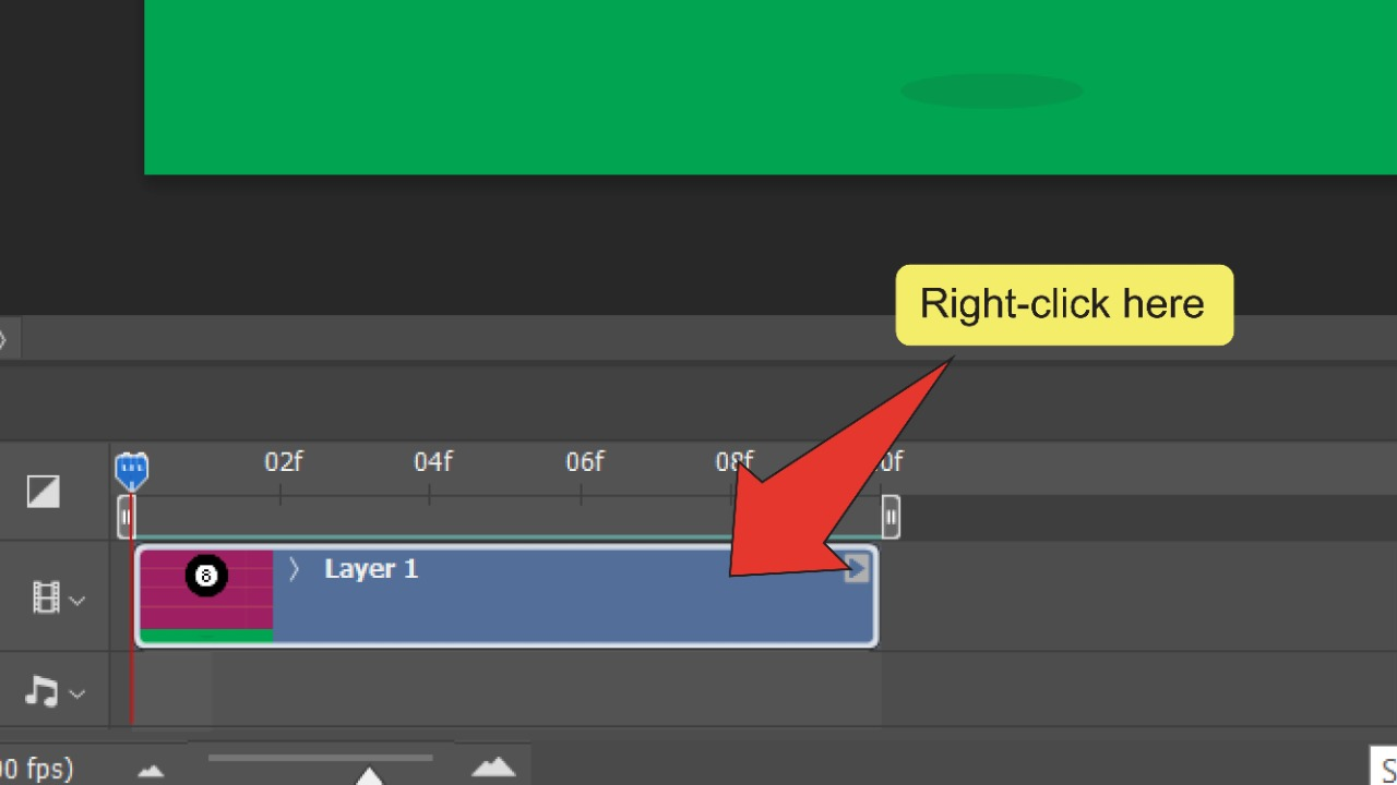How to make a GIF in Illustrator Step 16