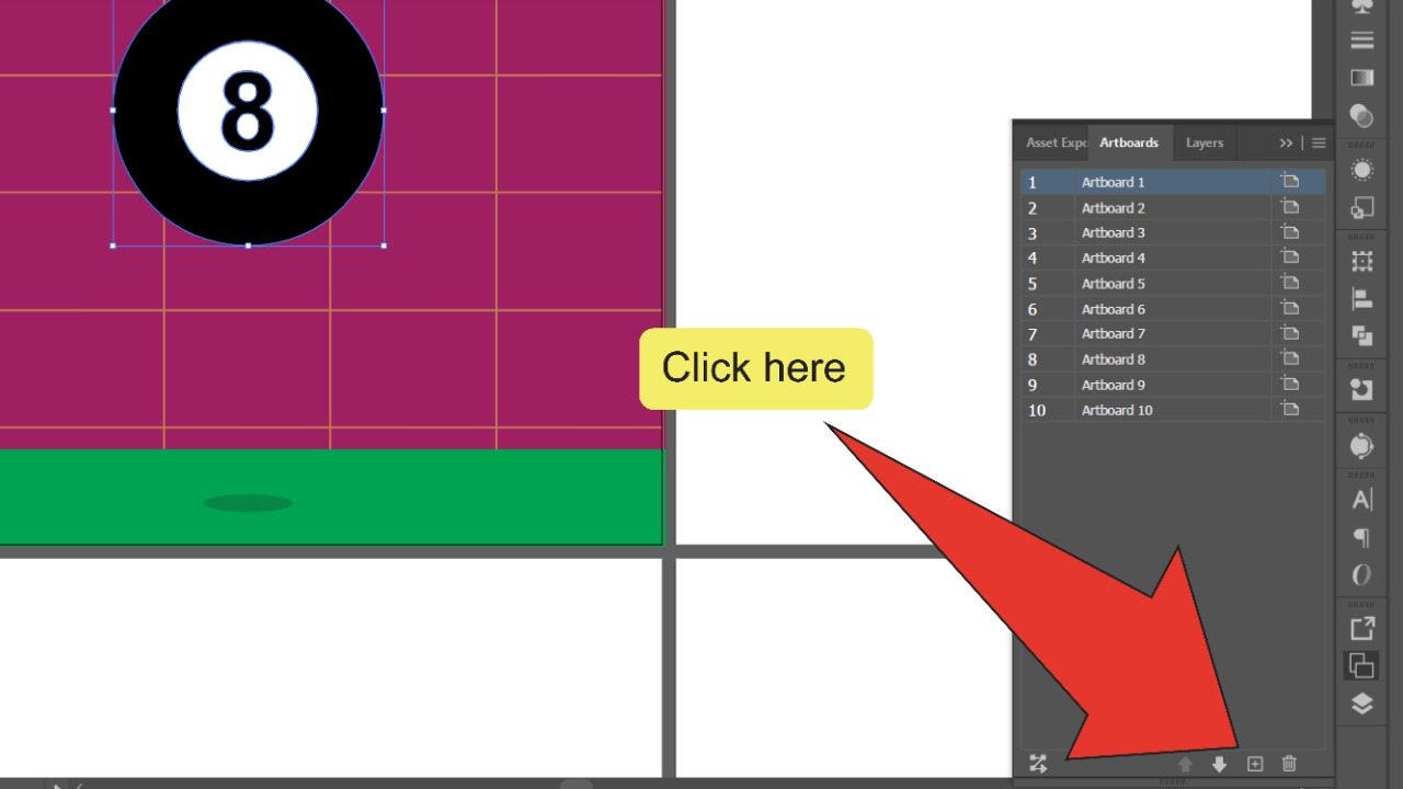 How to make a GIF in Illustrator Step 6