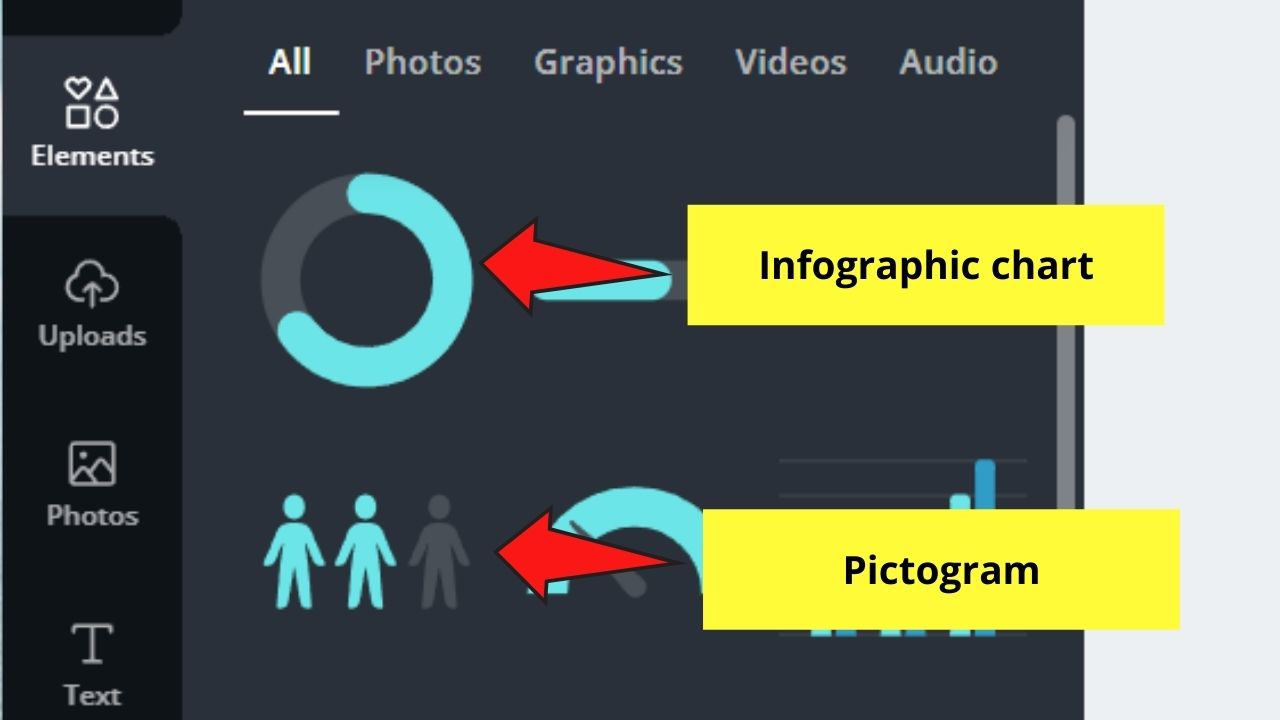 Infographic Charts and Pictograms