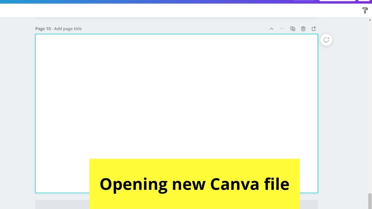 Opening Canva File
