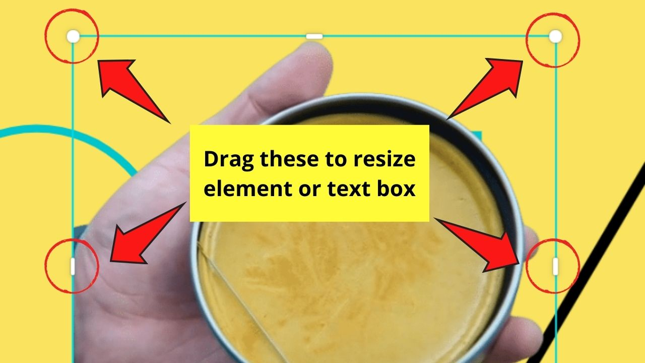 Resizing Images and Elements in Canva