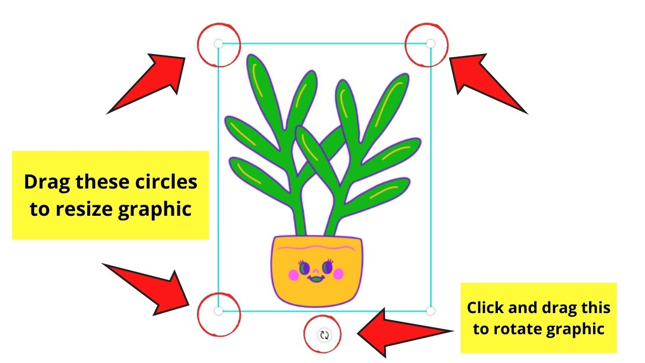 Resizing and Rotating Graphic
