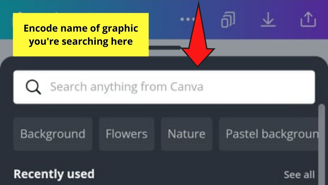 Using Search Bar Function